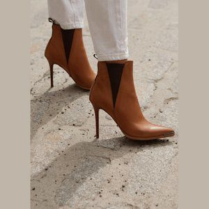 Tony Bianco Dain Tan Como Ankle Boots